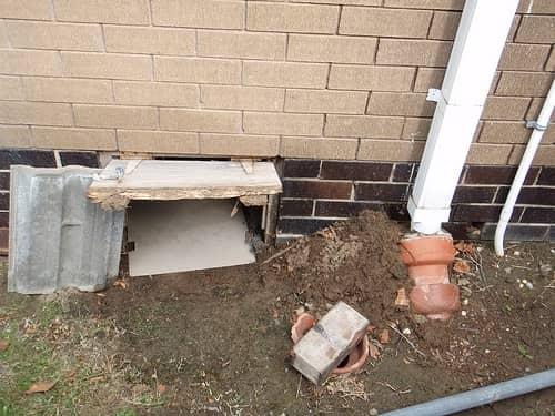засор наружной канализации